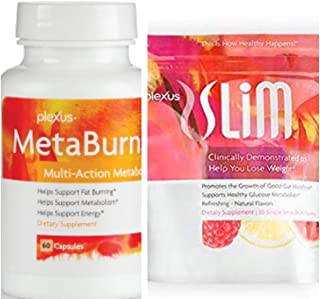 Plexus Slim Microbiome and Plexus Metaburn Combo Pack with Free Gift