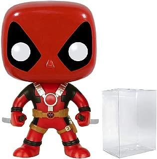 Funko Pop! Marvel Heroes: Deadpool with Two Swords #111 Vinyl Figure (Bundled with Pop Box Protector Case)