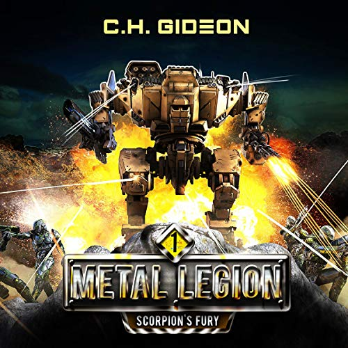 Scorpion's Fury Audiobook By Caleb Wachter, C. H. Gideon, Craig Martelle cover art