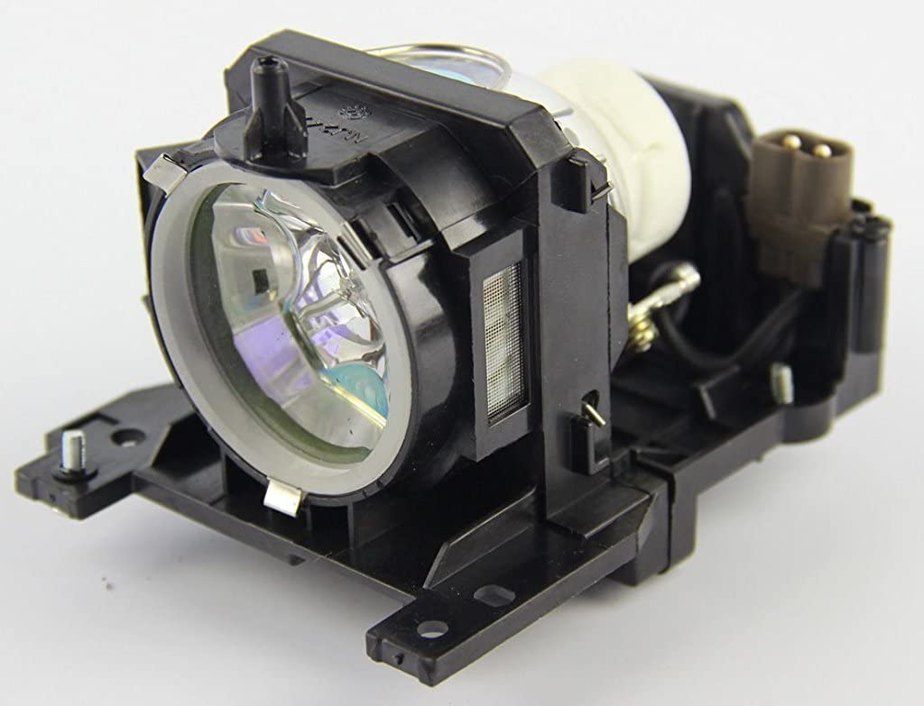 Mogobe for DT00911 Compatible Projector Lamp with Housing for HITACHI CP-X206 CP-X301 CP-X401 CP-WX410 CP-X201