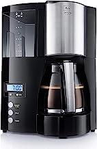 Melitta, Filterkoffiezetapparaat met timerfunctie, Optima timer Koffiefiltermachine. 12 Tassen zwart