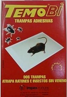 Trampa Adhesiva para ratones e insectos Temobi