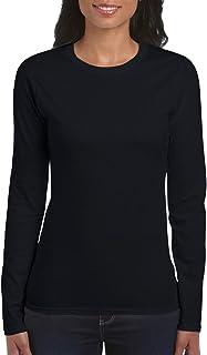 Gildan Women`s Softstyle Long Sleeve T-Shirt, 2-Pack