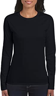 Women's Softstyle Long Sleeve T-Shirt, 2-Pack