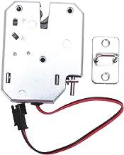 Jaimenalin Elektrische Controle Lock 12 V 2A Elektromagnetische Deur Lock Kabinet Lade Lockers Lock Carbon Staal Zilver Ha...