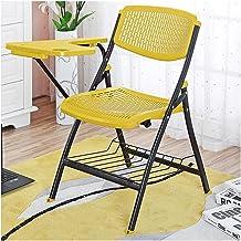 Wyściełane Krzesło Składane Wygodne Miejsce Siedzenia Biurowe Składane Krzesła Biurko łatwe Oparcie Przechowywania, Jednoc...