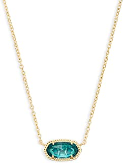 Elisa Pendant Necklace for Women, Fashion Jewelry, 14k...