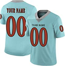 Custom City Edition Football Jersey Mesh Style Design Name & Number with Full Colors Digital Printed Front & Back for Men
