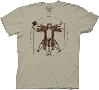 The Big Lebowski Vitruvian Adult T-Shirt