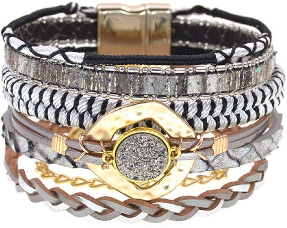 Women Bracelet Handmade Cotton Colorfu New life Bracelets sold out Bohemia Leather