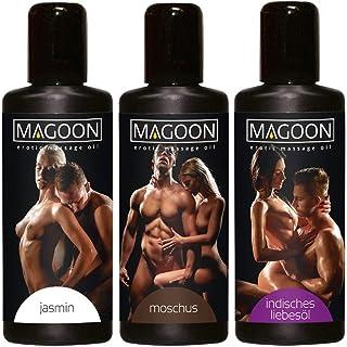 Orion 621080 3-delige set massage-oliën 50 ml