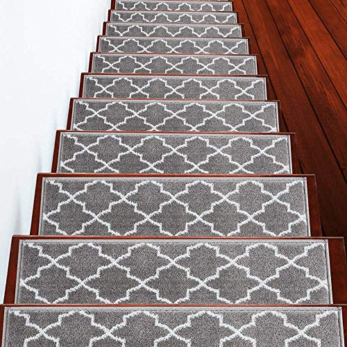 SussexHome Stair Treads - 100% Polypropylene...