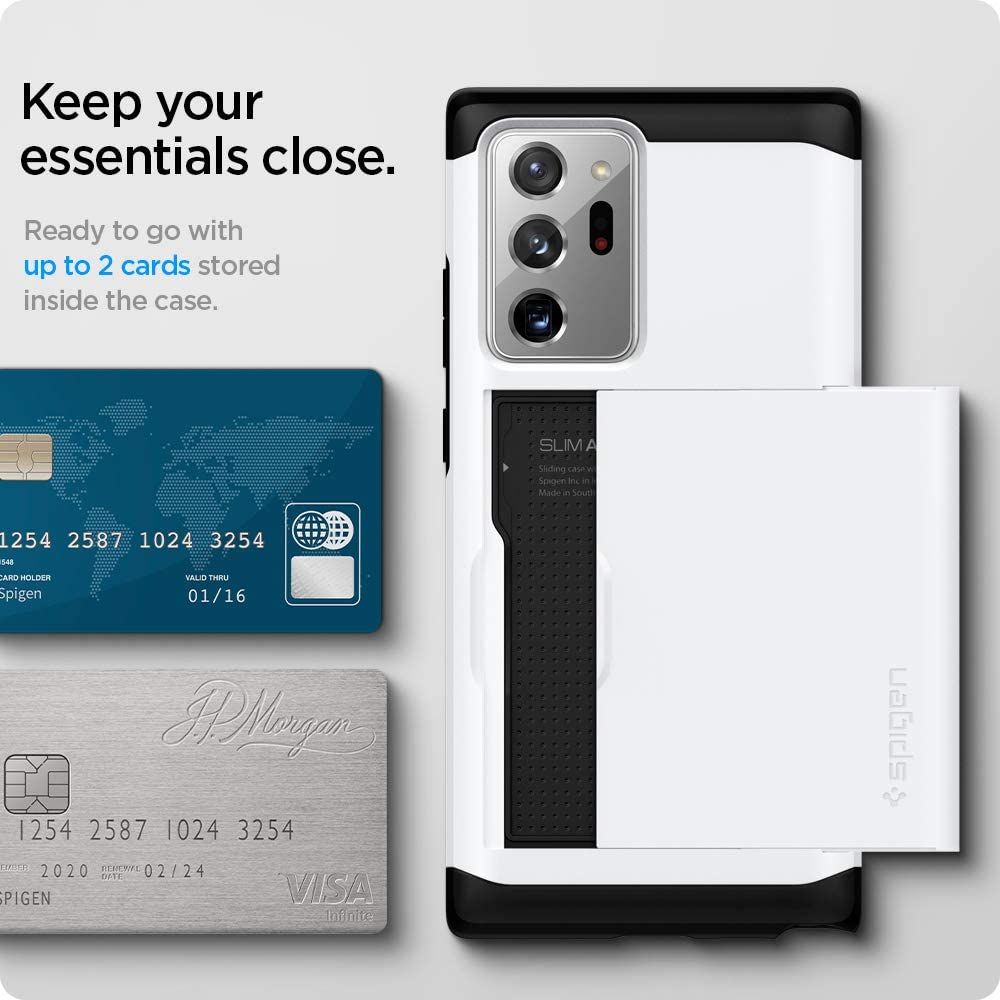 Spigen Slim Armor CS Designed for Samsung Galaxy Note 20 Ultra 5G Case (2020) - White
