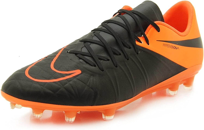Nike Men's Hypervenom Phinish Leather Fg Football Boots