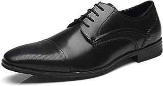 Men Dress Shoes Lace Up Zapatos de Hombre Comfortable Classic Modern Formal Business Oxford Shoes for Men