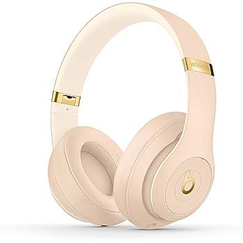 Beats Studio3 Wireless Headphones – The Beats Skyline Collection - Desert Sand (Renewed)