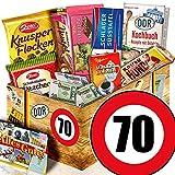 Geschenk zum 70. Geburtstag / DDR Korb / Geschenke 70 Geburtstag Mann