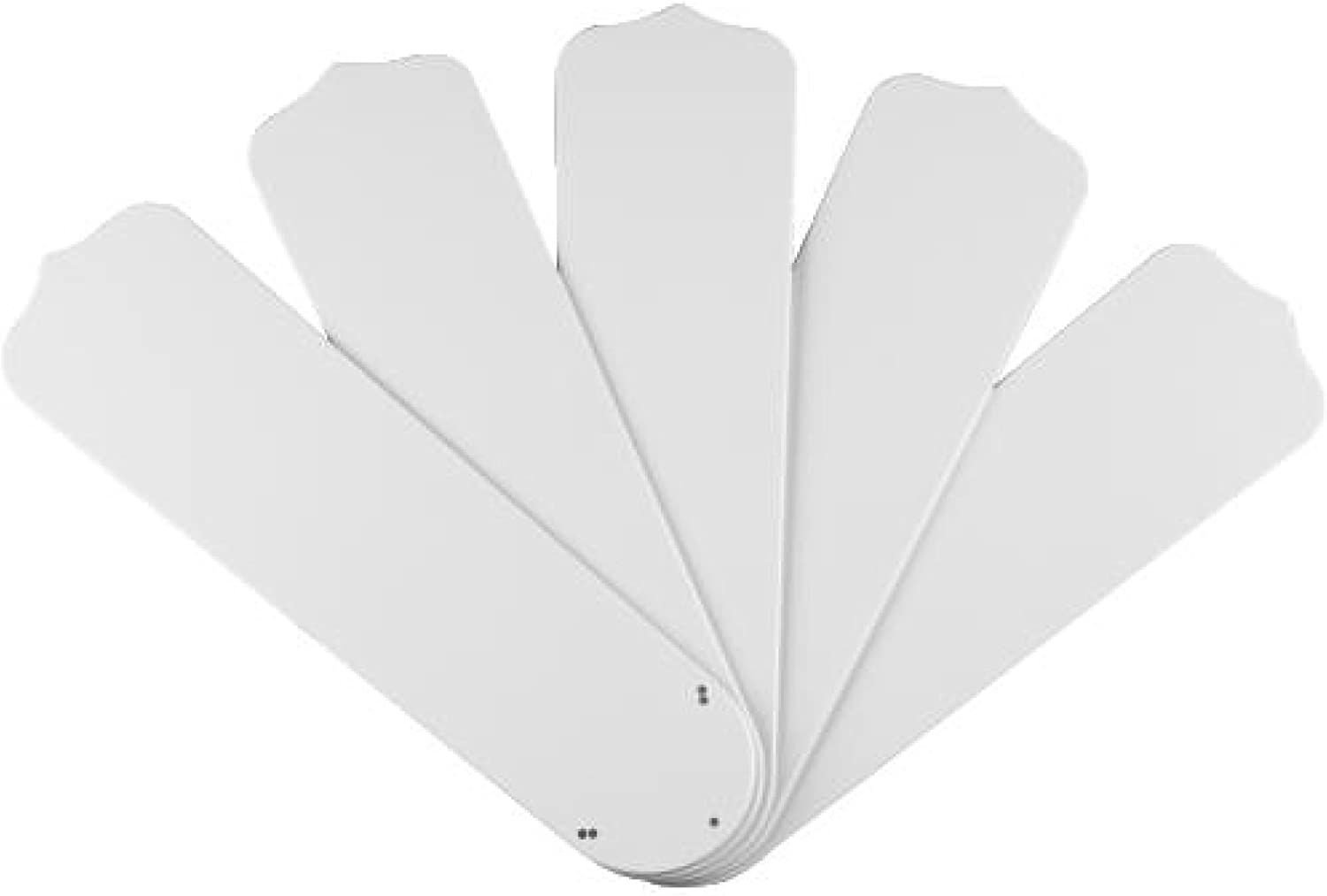 Westinghouse Lighting 7741400 52 Inch White Outdoor Replacement Fan Blades Five Pack Ceiling Fan Replacement Blades