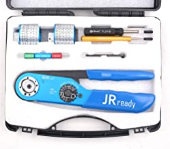 JRready Crimper Kit ST2058 used for HARTING Han Connectors,WAIN 10A Connectors,JRD-AF8&Turret Head positioners & TL00 Extraction Tool&G125 Gage used in field of high-speed railway & robotics