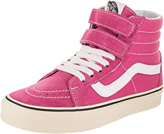 Vans Unisex Sk8-Hi Reissue Raspberry Rose/Turtledove Skate Shoe 7 Men US/8.5 Women US