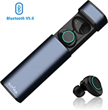 HolyHigh X9 Bluetooth Earphones Bluetooth 5.0 Sports Wireless Earbuds with Mic & Mini Charging Case 20H Playtime Ture wireless Earphones Headphones Noise Canceling Bluetooth Earbuds in Ear for All Mobile Phone