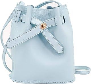 MAYWIND TREE DIY Bucket Tote Bag Girl's PU Handbag Crossbody Shoulder Bags