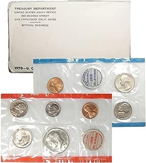 1970 P & D United States US Mint Set