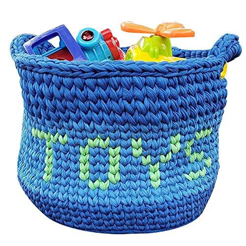 T-Shirt Yarn Recycled 130 Yards 1.5 lb Bulky Yarn│Jersey Yarn│Fabric Yarn │T Shirt Yarn for Crochet │ Knitting Tshirt Yarn │ Home Decor DYI Supply │ Recycled Yarn │Trapillo (Baby Blue)