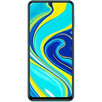 "Xiaomi Redmi Note 9S (64GB,4GB) 6.67"", 48MP Camera, 18W Fast Charge, 5020mAh Battery, Dual SIM GSM Unlocked 4G LTE (T-Mobile, AT&T, Metro, Cricket) International Model (Aurora Blue, SD + Case Bundle)"
