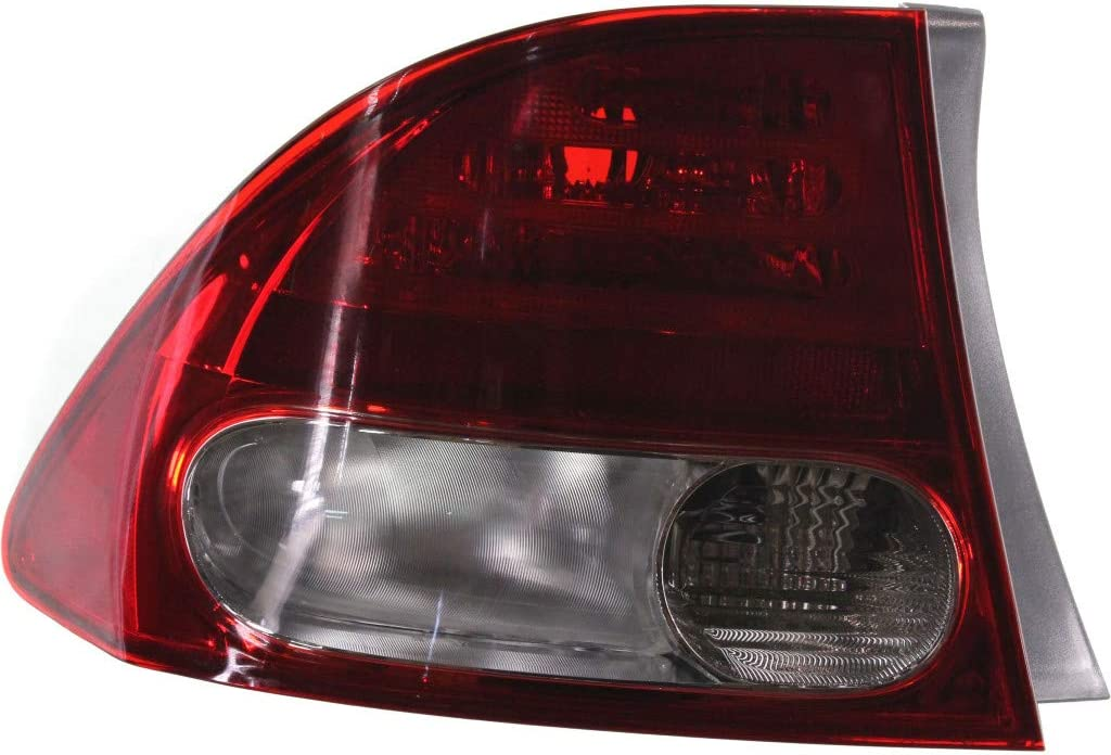 For 2009-2011 Honda Civic 2021 model Rear Tail High quality new U Side Assembly Light Driver
