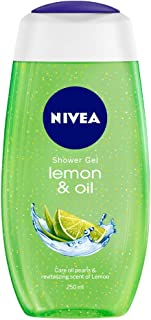 NIVEA Shower Gel, Lemon & Oil Body Wash, Women, 250ml