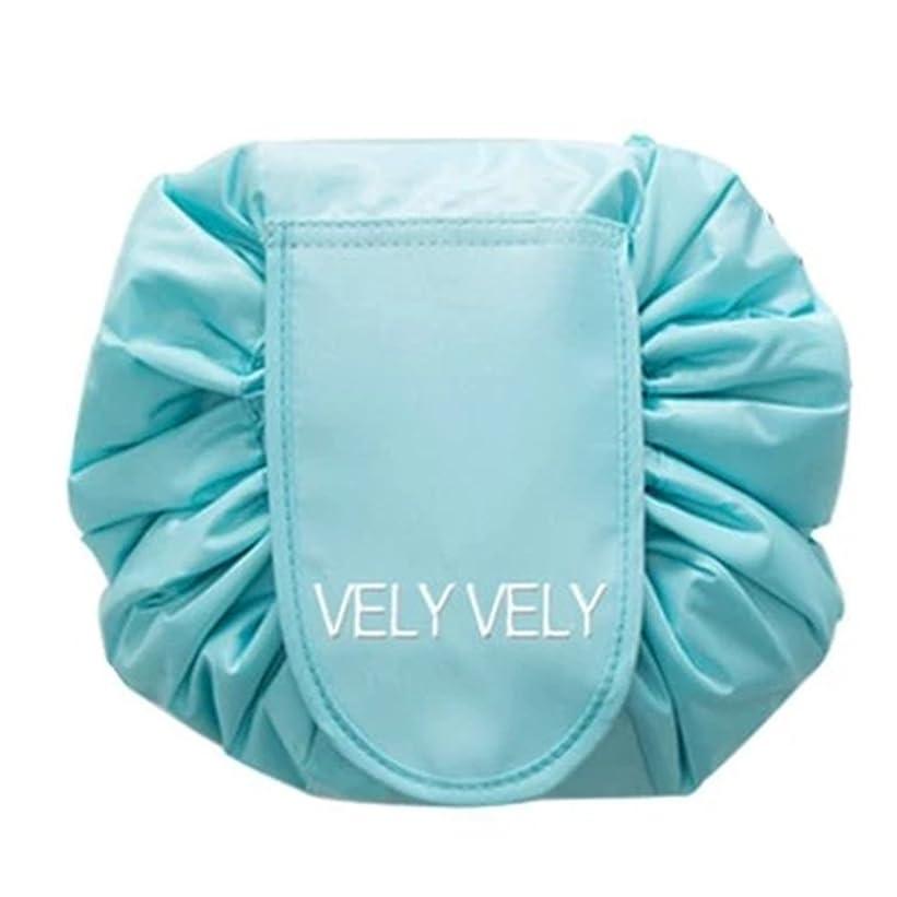 本当に修正仮定Littleliving 旅行メイクバッグ 旅行化粧バッグ メイク収納バッグ 化粧ポーチ 大容量 巾着 マジックふろしきポーチ