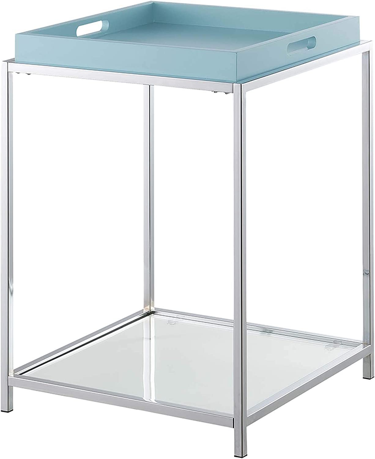 Convenience Concepts Palm Beach 受賞店 End Table Removable 卓出 a Trays with