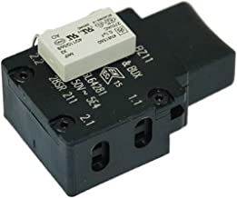 Spares2go On Off Switch Button Starter Unit for Bosch Rotak 32 36 37 40 400 47 Lawnmower