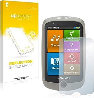 upscreen Antireflecterende Schermbeschermer compatibel met Mitac Mio Cyclo Discover Anti-Glare Screen protector, mat, onts...