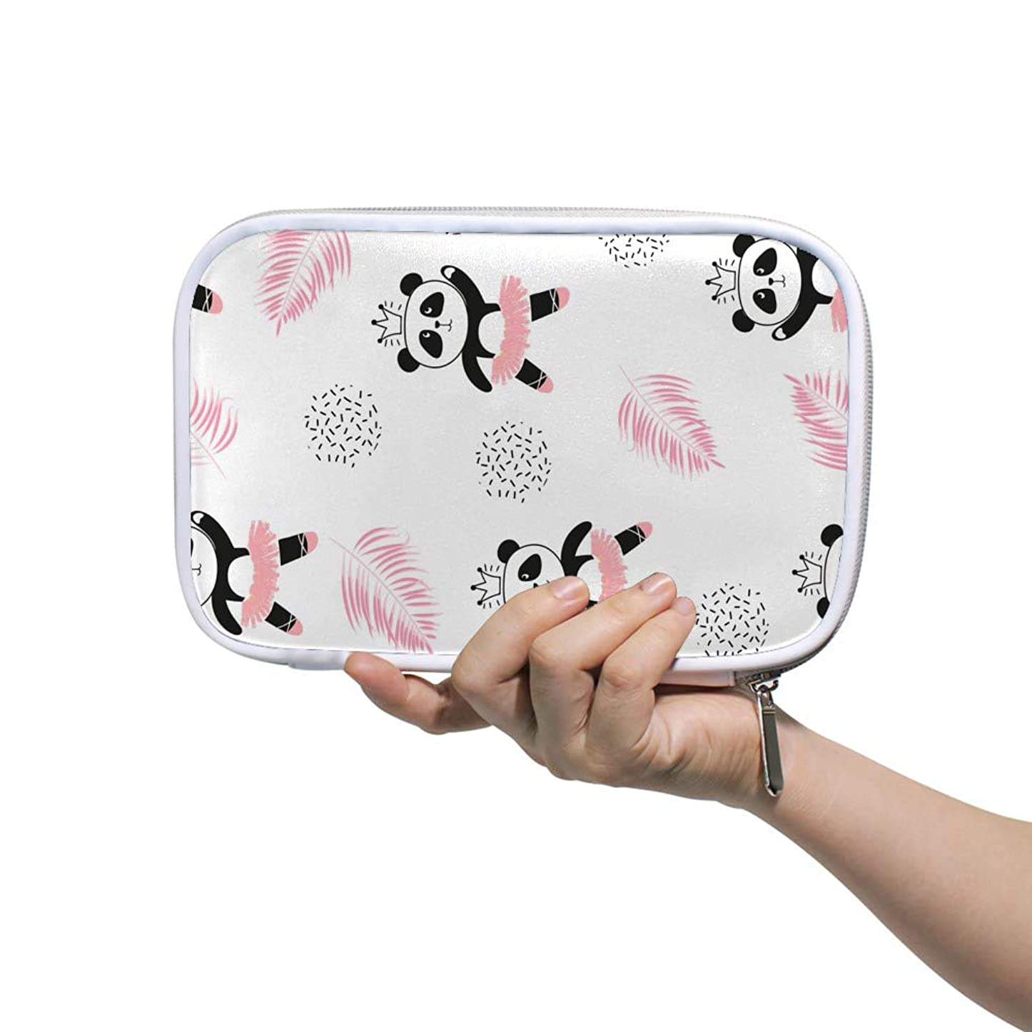 創始者禁輸甘くするZHIMI 化粧ポーチ メイクポーチ レディース コンパクト 化粧品収納バッグ 防水 柔らかい おしゃれ コスメケース ? 機能的 軽量 小物入れ 出張 海外旅行グッズ パスポートケースとしても適用