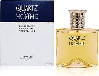 Quartz By Molyneux For Men. Eau De Toilette Spray 3.3 Ounces