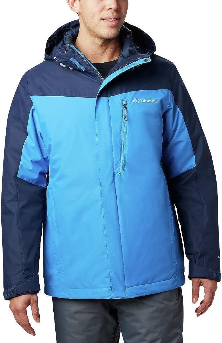 Columbia Men's Whirlibird IV 2021 autumn and winter new Br Waterproof Inexpensive Interchange Jacket
