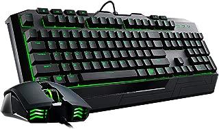 Cooler Master Devastator II - Green LED Gaming Keyboard & Mouse Combo (SGB-3032-KKMF1-US)