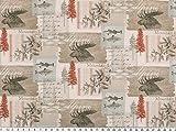 Zanderino ab 1m: Baumwoll-Popeline, Digitaldruck,
