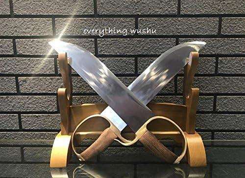 Everythingwushu Wing Chun Swords Bart Cham Dao Wing Chun Butterfly Swords Sifu Dao product image