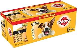 Pedigree Adult hondenvoeding voor volwassen honden in portiezak – verschillende soorten, 40 x 100 g