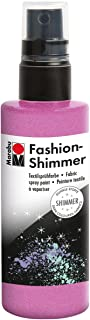 Marabu 17189050534 Fashion Shimmer 100ml-Shimmer Rose Pink