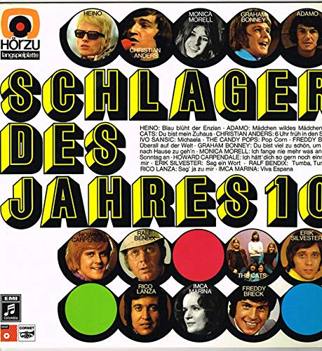 Adamo, Christian Anders, Beach Boys, Glenn Campbell, Chris Farlowe, Paul Kuhn, Helmut Zacharias.. / Vinyl record [Vinyl-LP]