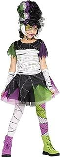 Fun World Monster Bride Girls Child Frankenstein Costume