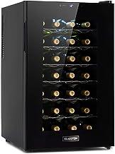 KLARSTEIN Barolo 28 Uno Cave à vin 70 L / 28 bouteilles, température: 11-18 ° C, silencieuse 26 dB, 6 niveaux de clayettes...