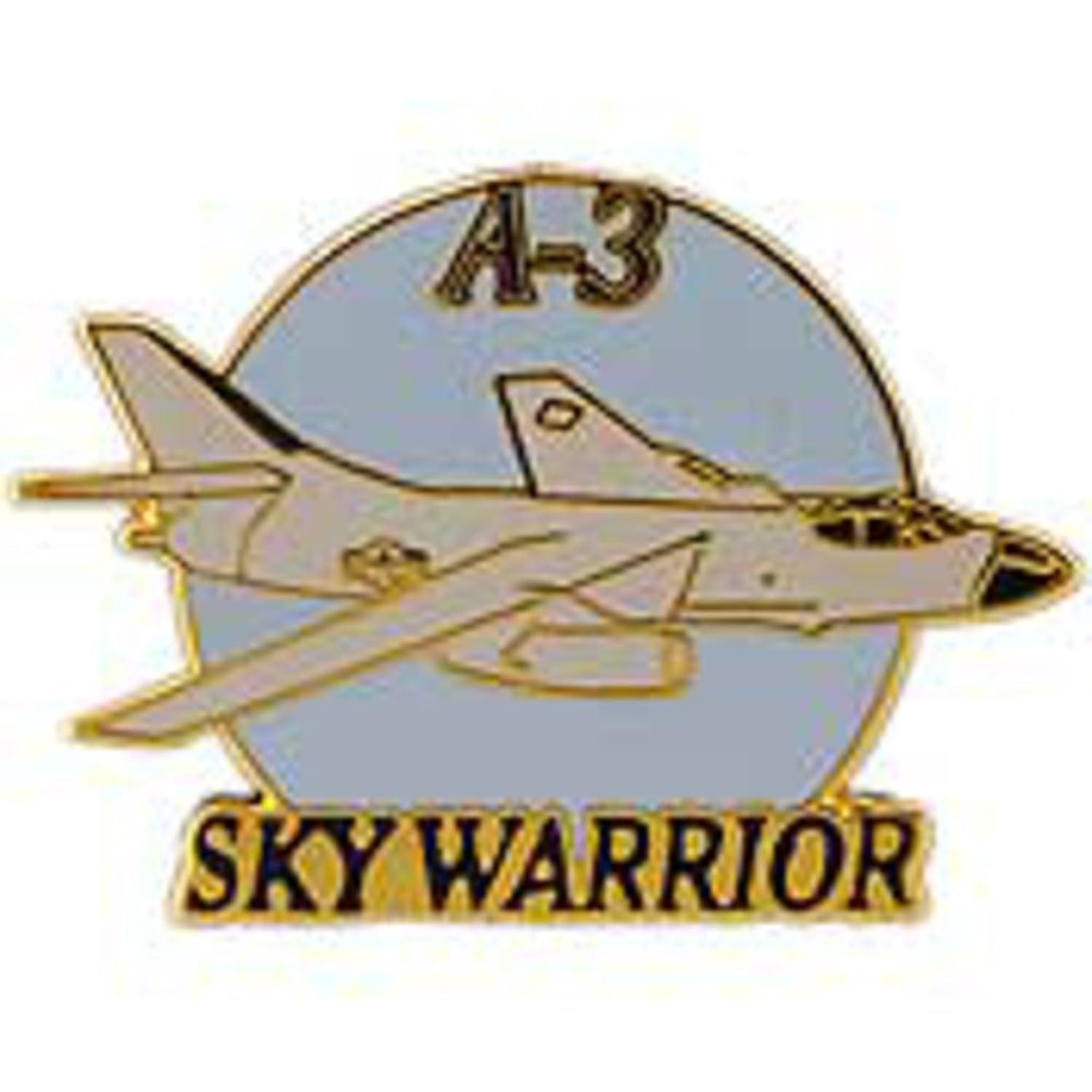 EagleEmblems P18074 Pin-Apl,a-03 Skywarrior (1.5'')