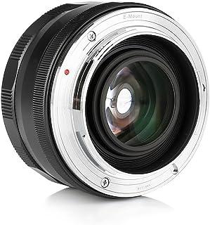 Meike Lente Gran Angular de 25 mm de apertura / gran apertura de 25 mm para cámaras sin espejo X-mount de Fujifilm con APS-C