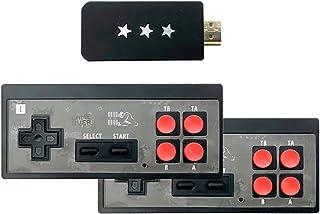 Mini Console de Jeux Vidéo Salon Retro, 4K HDMI Console de Jeu Tv Familiale avec Sortie de Contrôleur Sans Fil et 568 Jeux...