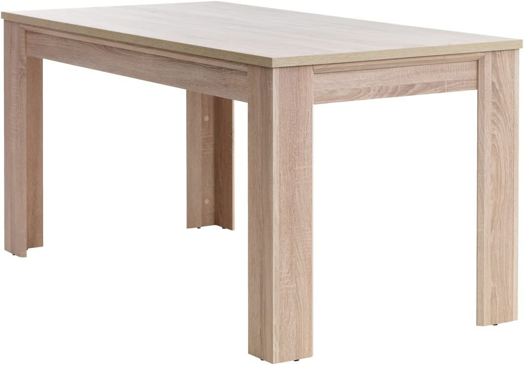 jysk Dining Table Hallund 9 x 9 cm Oak  Amazon.de Home & Kitchen